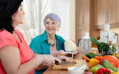 Family Caregivers can Support Good Nutrition in Seniors