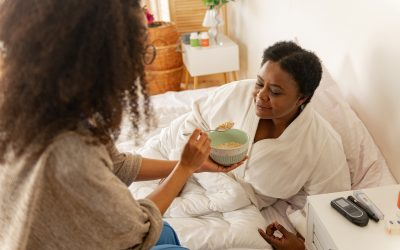 Three Ways Senior Care May Support Your Mother as She Battles Pneumonia